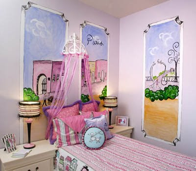 itmom: Parisian Themed Little Girls Bedrooms