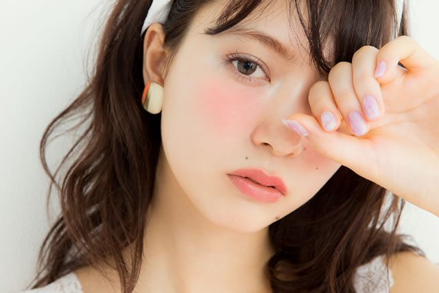 JAPANKURU U266a Japanese Beauty # Create A Rosy Makeup!!! Japanese Popular Igari Makeup