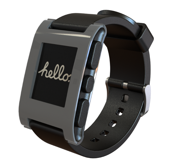 Pebble Smart Watch Grey