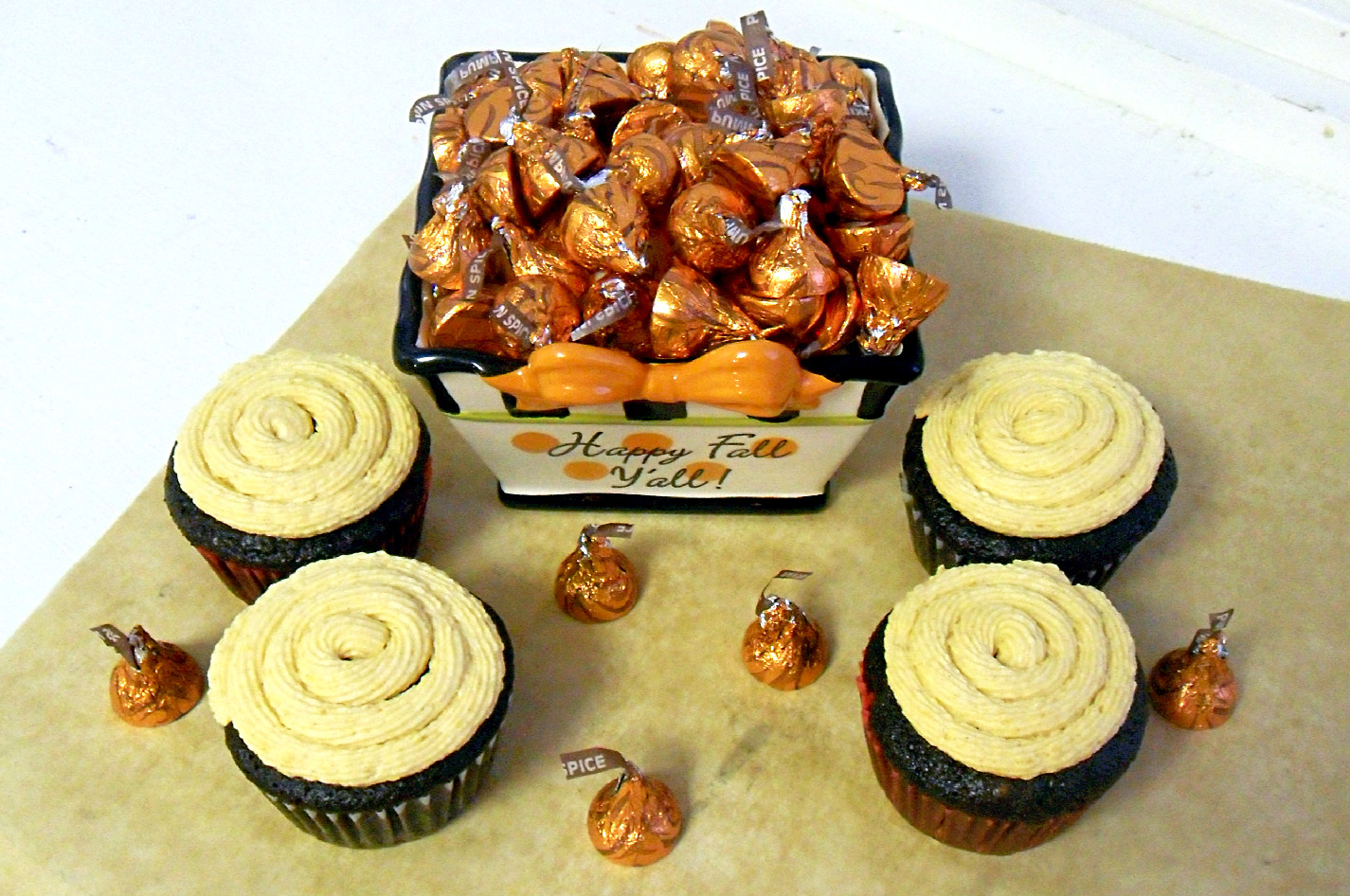 Cooking To Perfection Pumpkin Spice Cupcakes With Pumpkin