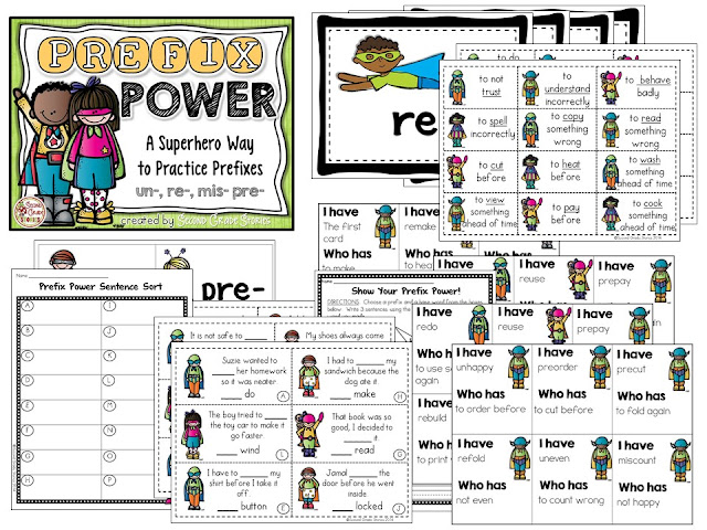 https://www.teacherspayteachers.com/Product/Prefix-Power-628602
