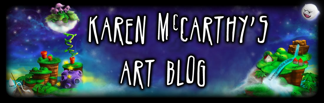 KAREN'S Art Blog