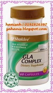 gla complex shaklee untuk hamil