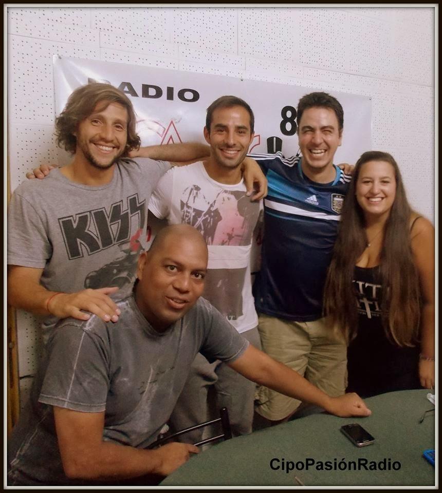 Lamolla y Madrid nos regalaron un programón en Cipo Pasión Radio