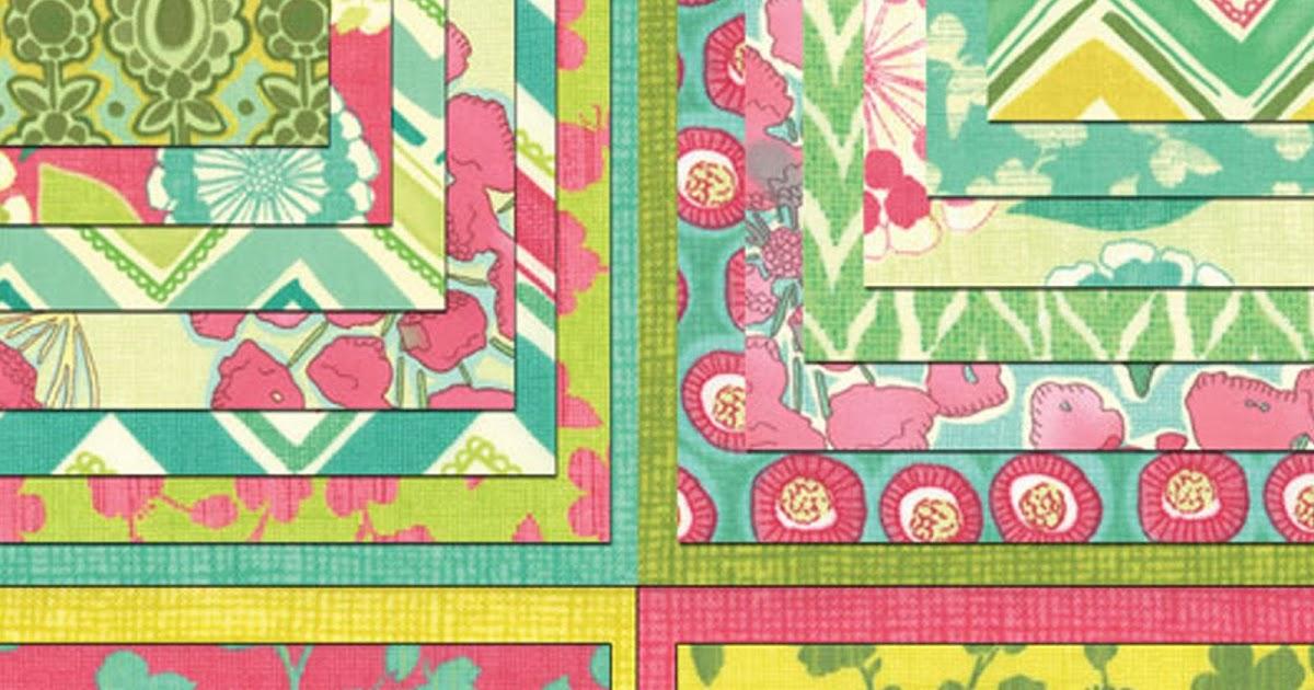Crazy Quilt Girl Fabric Shop Moda Spring House Fabric