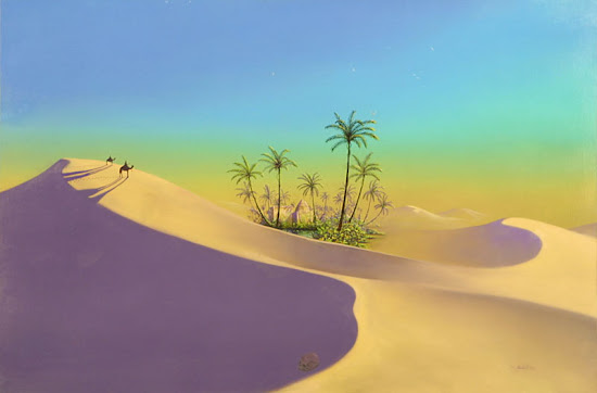 Que significa soñar con oasis