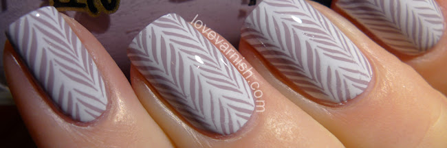 Review & Nail art // Hēhē Plus Stamping Plates