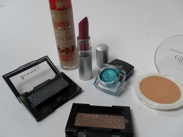 A picture of makeup products
