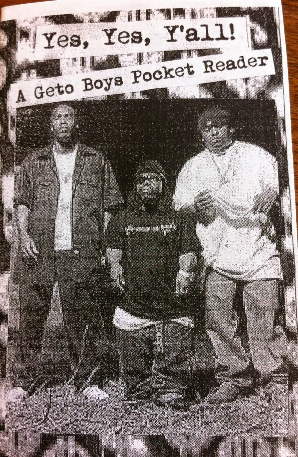 A Geto Boys Pocket Reader