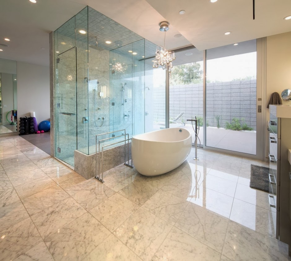 "Modern Homes Modern Bathrooms Designs Ideas: Casa Moderna ""Birds Nest"" Diseño De Brent Kendle, En"