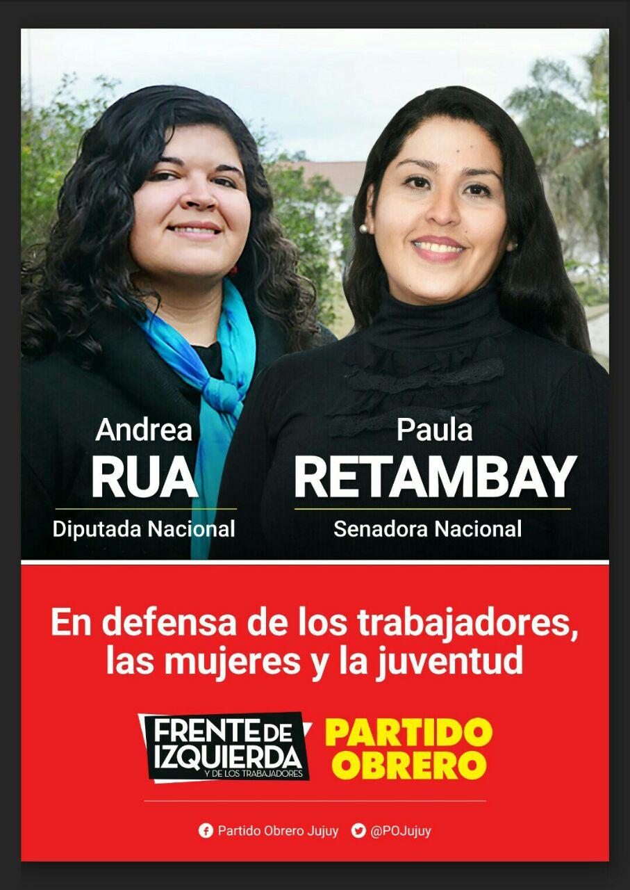 En Defensa de los Trabajadores, las mujeres y la juventud!