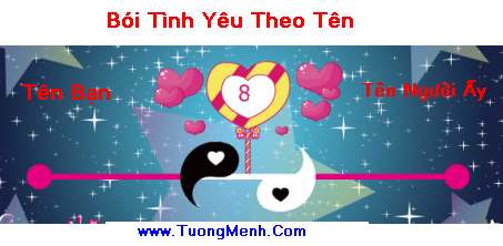 BOI TINH YEU THEO TEN