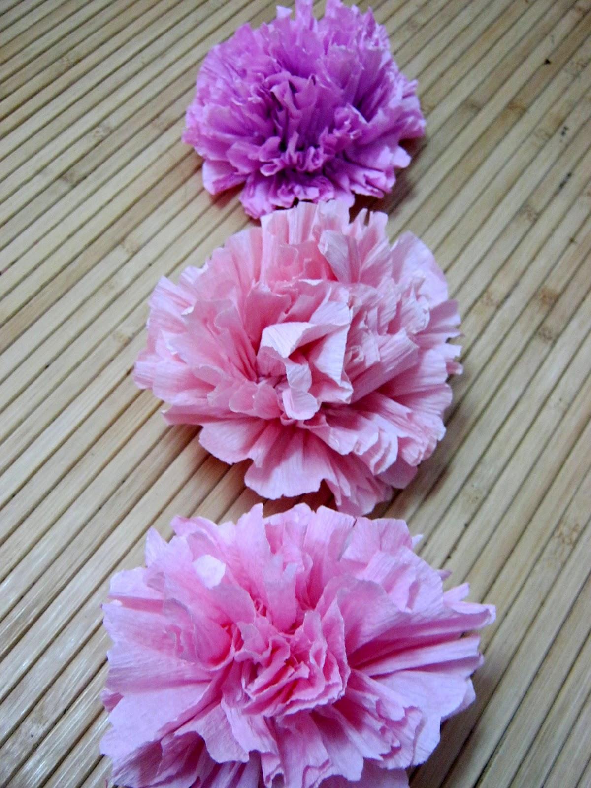 Bunga Carnation Dari Kertas Tisu | Genuardis Portal