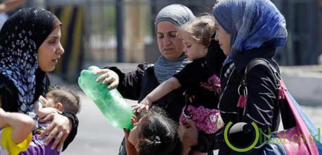 Warga Mengungsi ke Turki