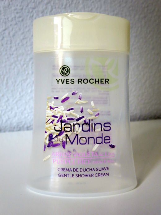Yves Rocher Jardins du Monde Purple Rice from Laos Gentle Shower Cream