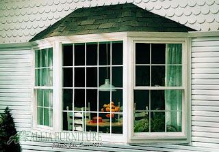 Bay window jendela rumah model menjorok ke depan