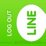 Cara Keluar (Log Out / Sign Out) Dari Aplikasi Line - Android