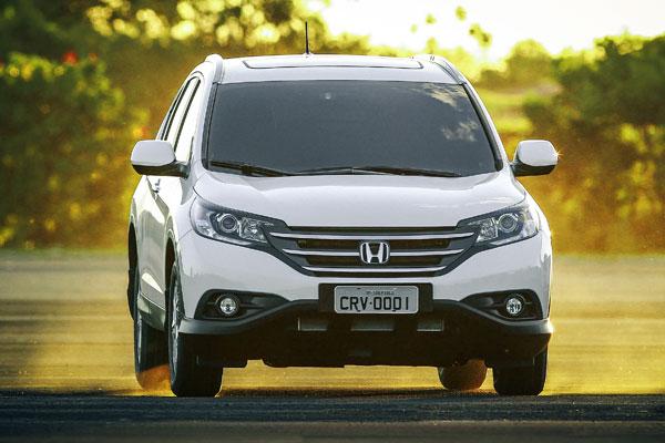 novo Honda CR-V 2014 dianteira