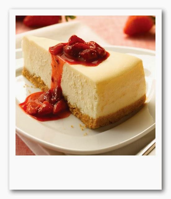 Receta au pair: Tarta de queso americana