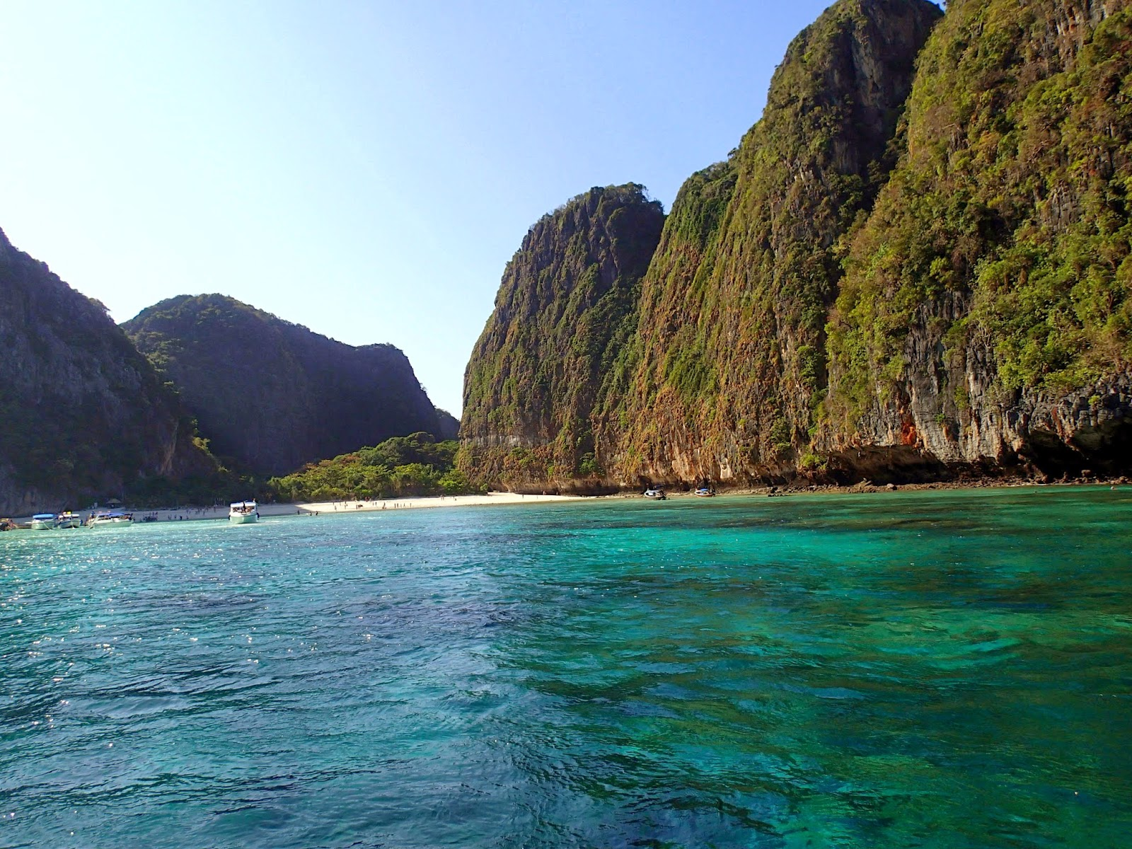 Maya Beach at Phi Phi Islands Thailand