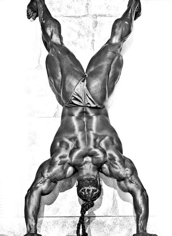 Kai greene bodybuilder motivational pics gallery skarro for Kai greene painting
