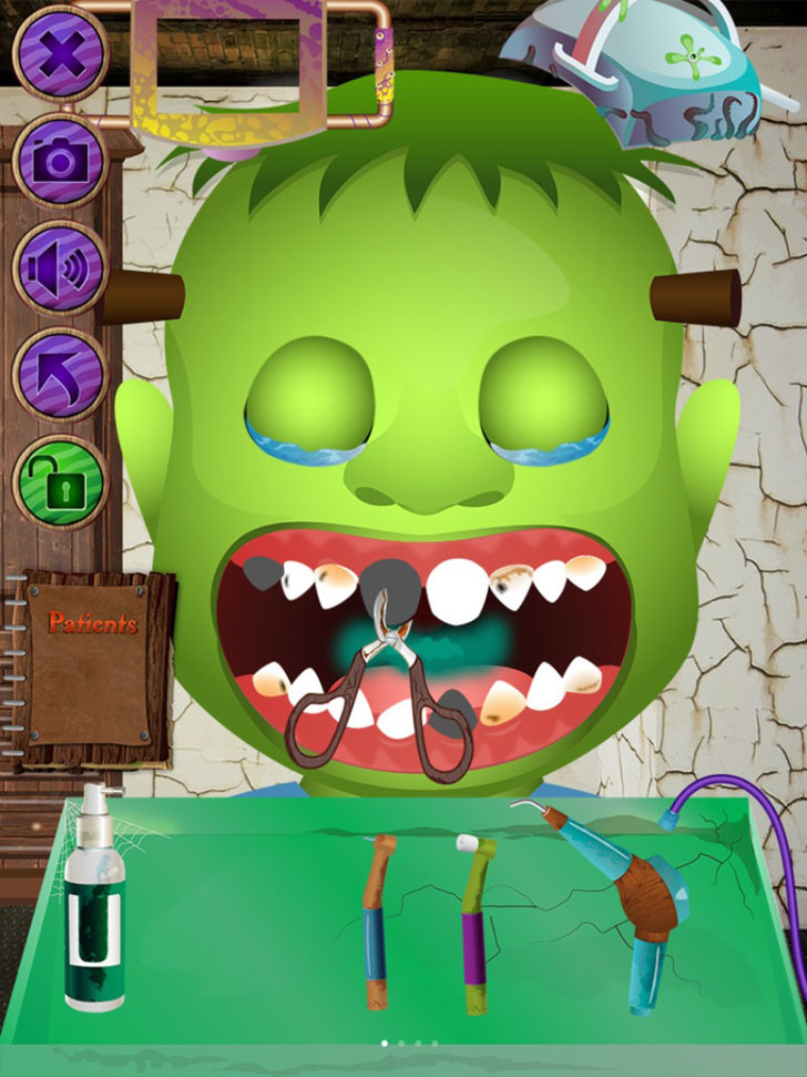 Monster Dentist App iTunes App By Ninjafish Studios - FreeApps.ws