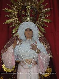 """Viernes de Dolores - Nuestra Señora del Patrocinio """"La Virgen de Triana"""" - Monasterio Santa Rosa"""