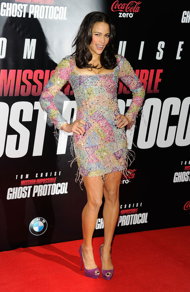 Celebrity Style Love: Paula Patton In Emilio Pucci At 'mission