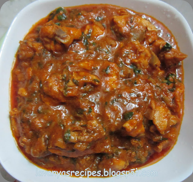 Chicken In Fenugreek Leaves / Methi Murgh   Diva Likes