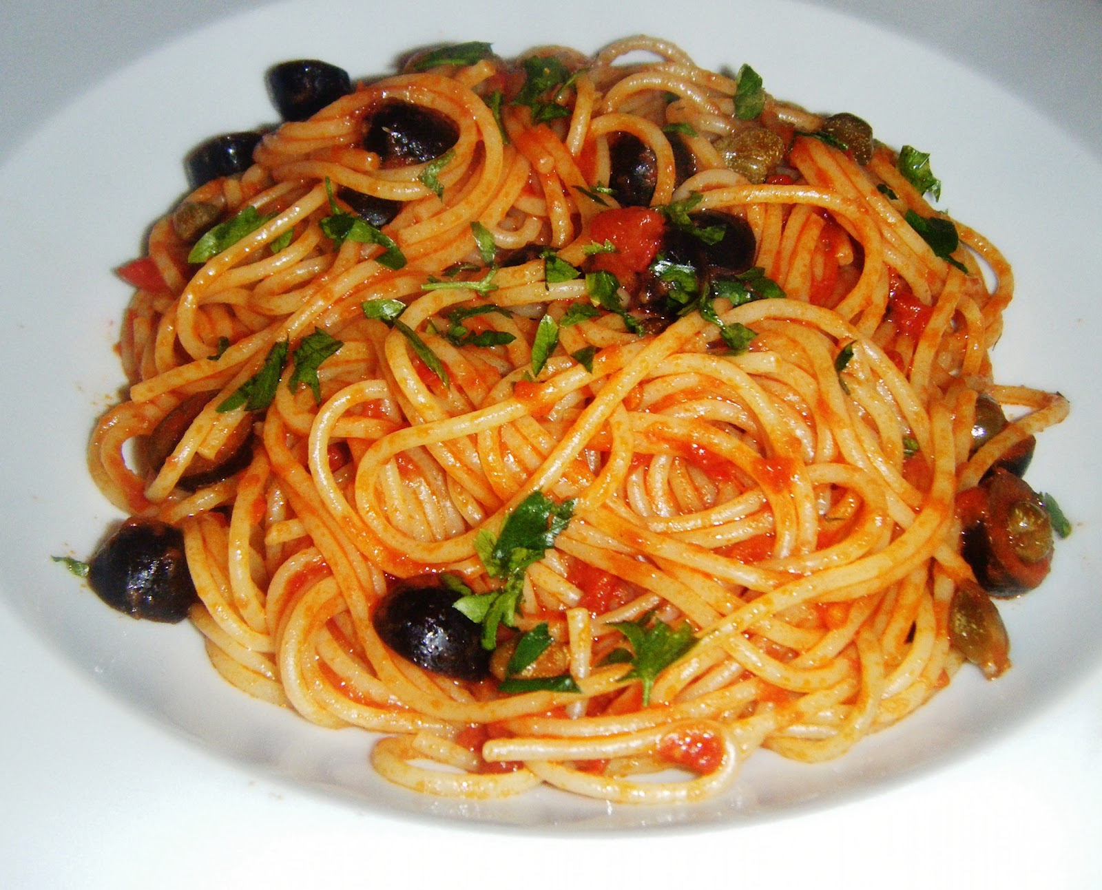 the Best Recipes: Spaghetti Puttanesca