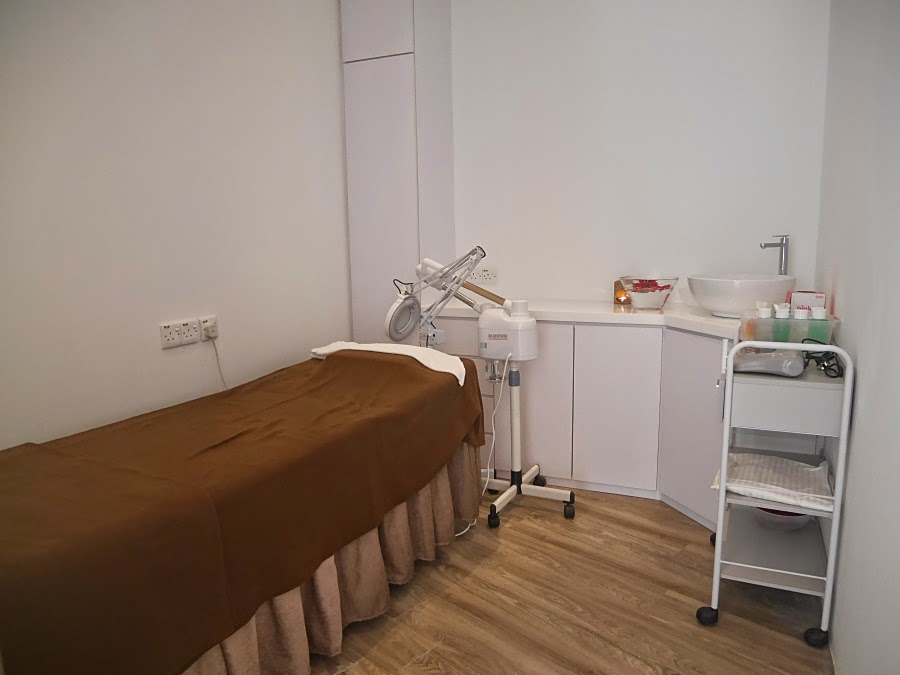 Facial treatment room at sa sa