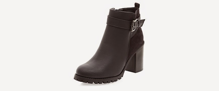 new look buckle ankle boot