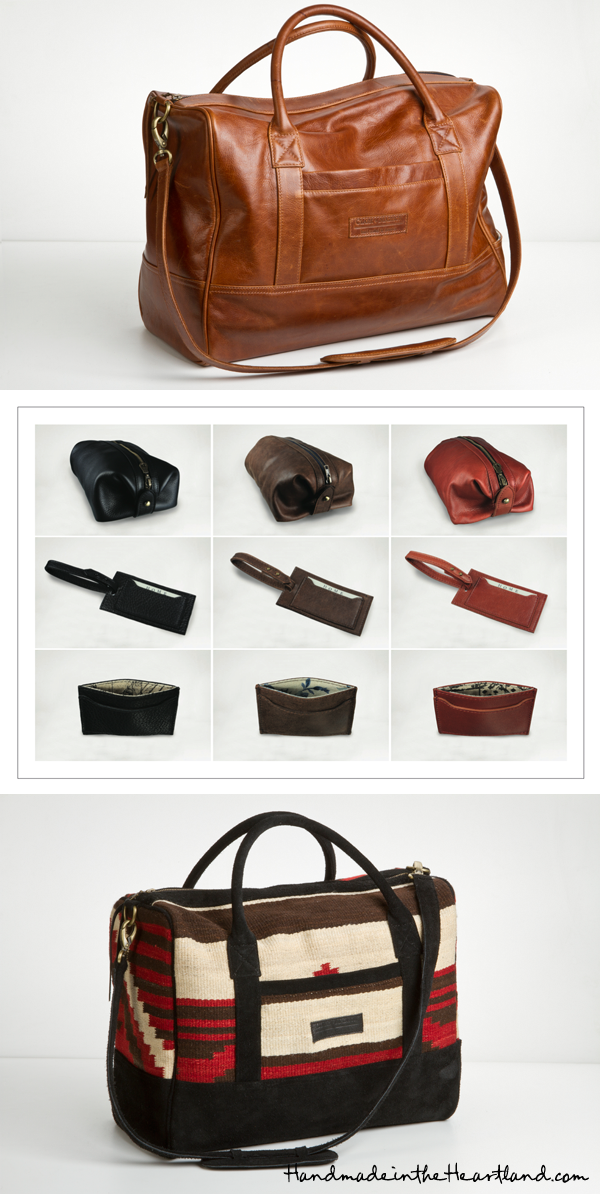 weekender tote, clark and madison