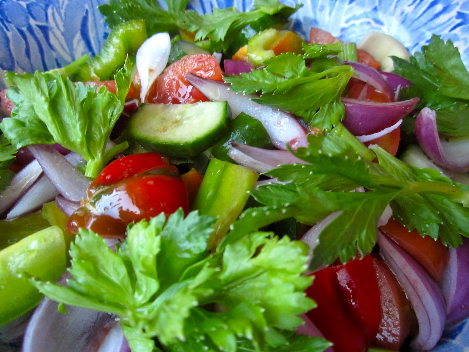 Simple Fresh And Healthy Garden Salad