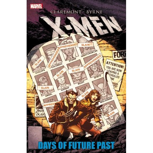 x-men days of future past comic book