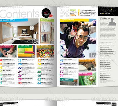 Kelebihan dan Kelemahan Template Magazine