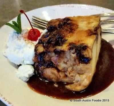 Liberty Kitchen bread pudding