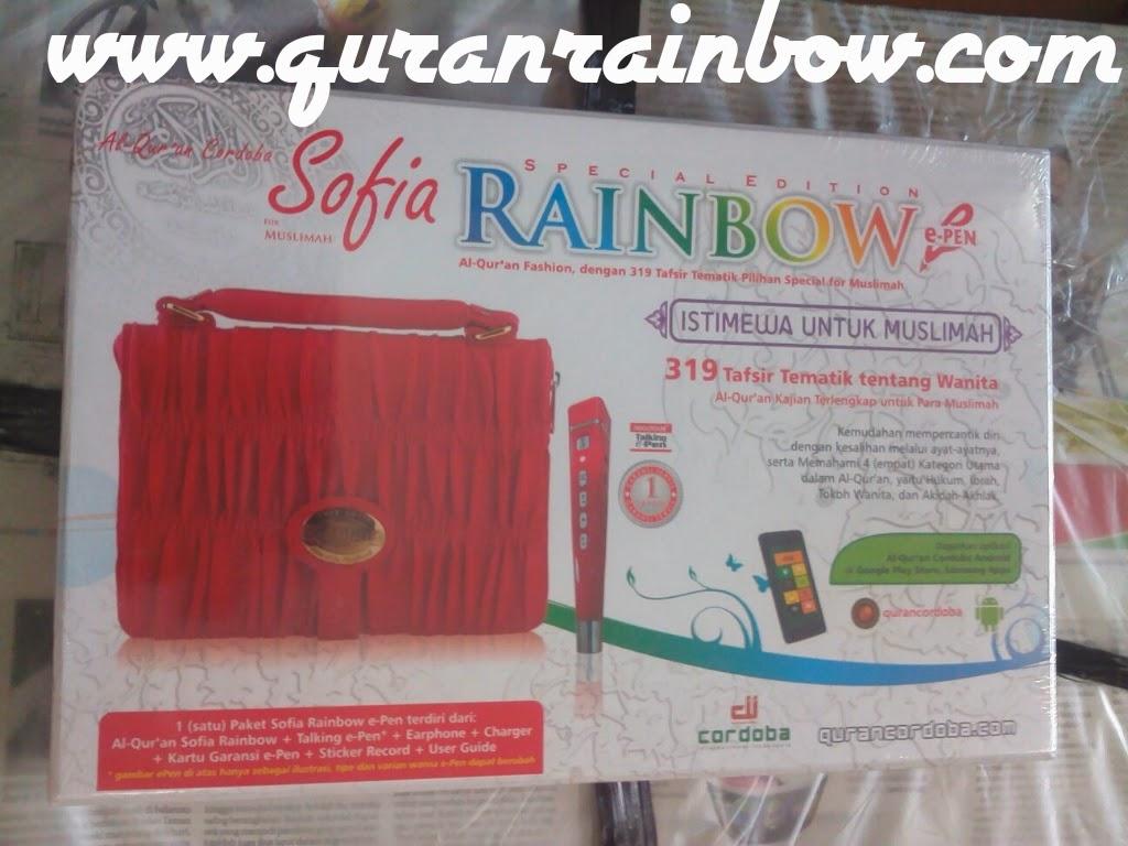 Jual Al-Qur'an Rainbow Digital E Pen Harga murah, jual al-quran pelangi digital e-pen murah, jual quran rainbow digital e-pen harga borong, jual alquran rainbow harga borong, jual alquran rainbow harga murah, alquran rainbow murah, harga alquran rainbow, harga alquran sofia rainbow digital, al-quran digital murah