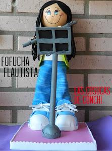 Fofucha flautista