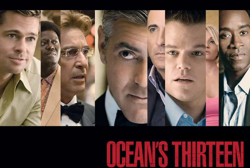 like ocean s 11 ocean s thirteen is entirely about