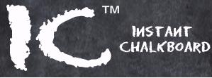 Instant Chalkboard Logo