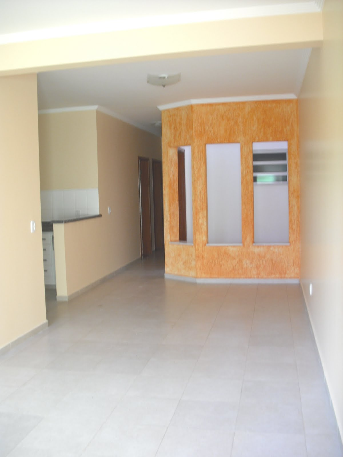 #9A6631 DE NEGÓCIOS: Sala Piso porcelanato 3 ambs janela de vidro  236 Janelas De Vidro Para Sala