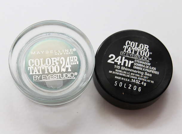 maybelline bleached neons shimmering sea review color tattoo