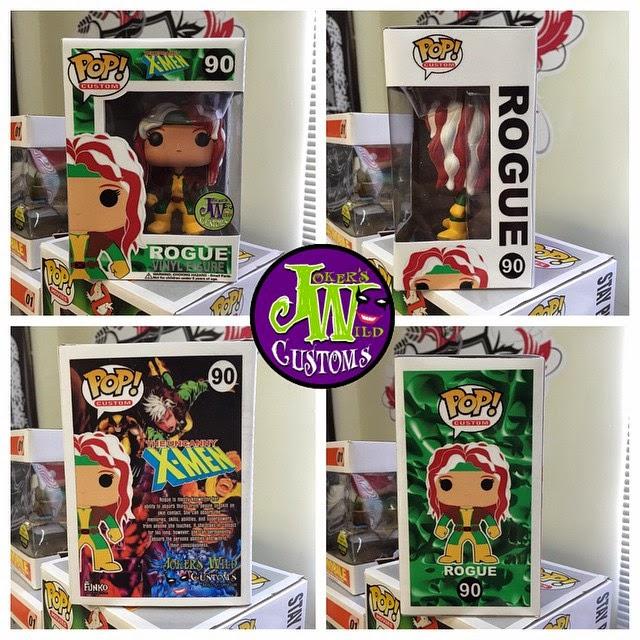 Funko Pop! Custom Rogue with Box
