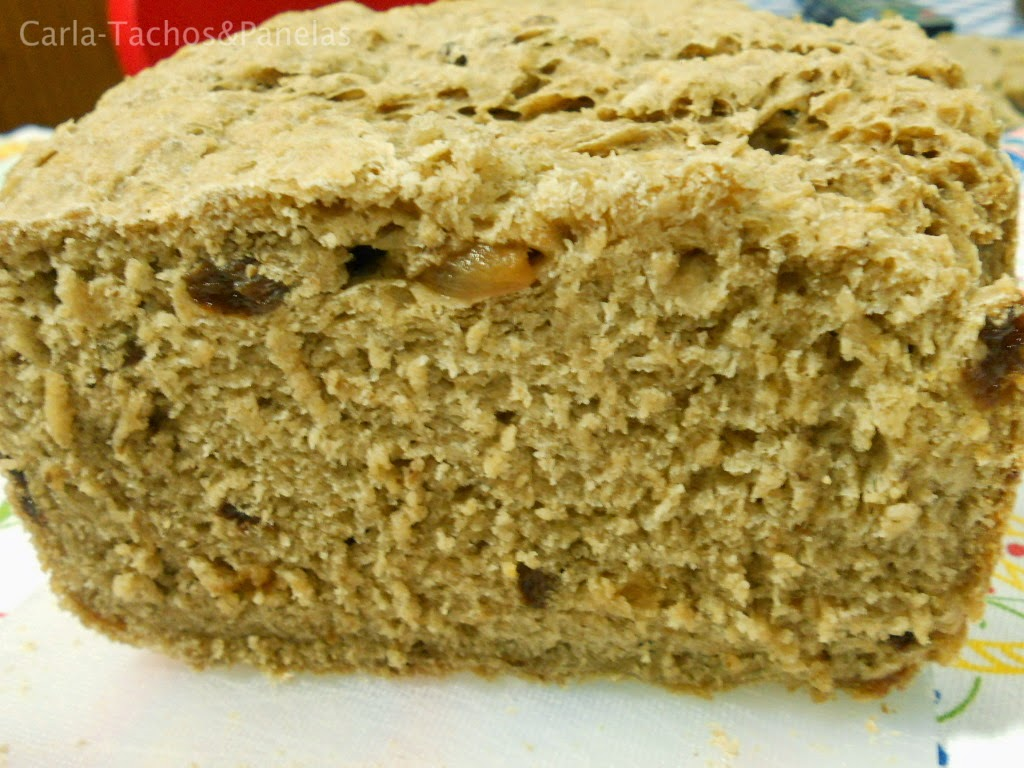 receita de pão de mistura com muesli