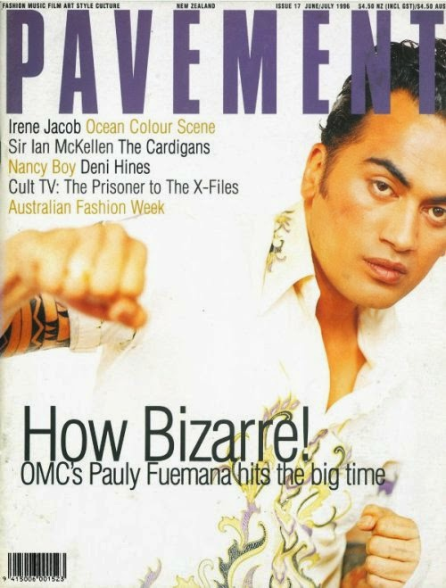 OMC cover, Pavement, June/July 1996. Photo: Stephen Langdon