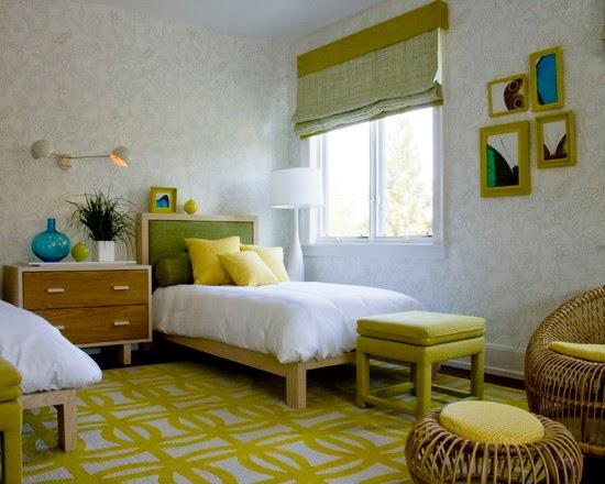 desain kamar tidur minimalis modern untuk anak taman