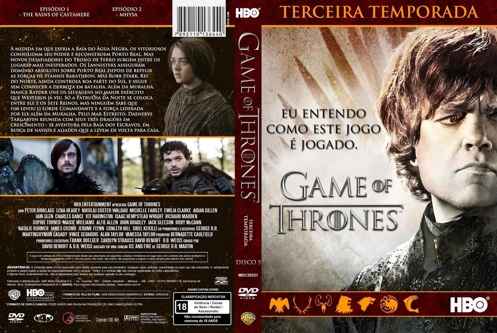 Game of thrones books vs series