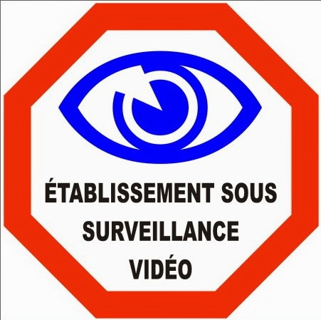 blog vid osurveillance conseils et astuces autocollants vid o surveillance. Black Bedroom Furniture Sets. Home Design Ideas