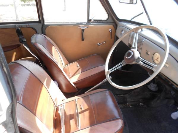 1951 morris minor low light auto restorationice for Interior car light laws california